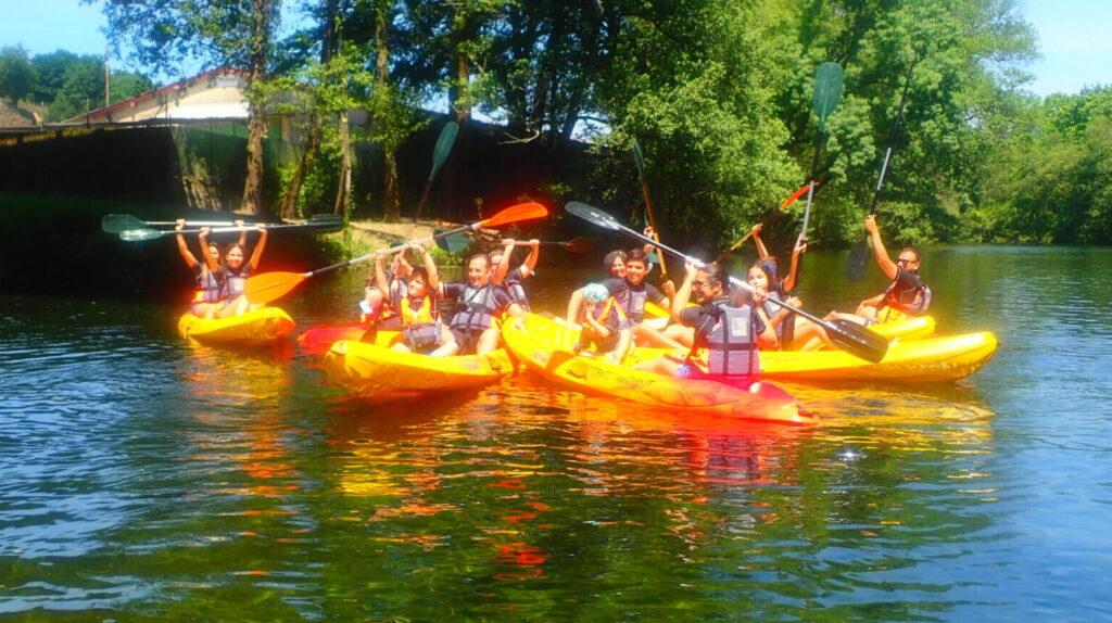 Kayak no Rio Vez